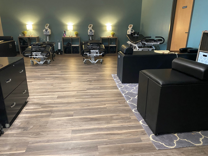 Chiropractic Inver Grove Heights MN Treatment Room at RH Health & Injury Specialists