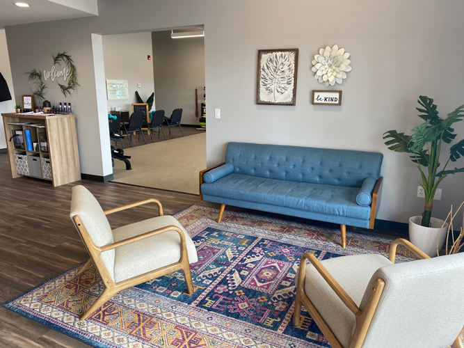 Chiropractic Inver Grove Heights MN Waiting Room at RH Health & Injury Specialists